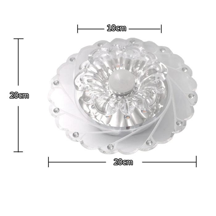 Ceiling Lamp LED Crystal Light