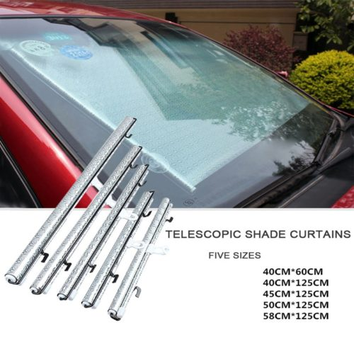 Car Window Covers Retractable Sunshade