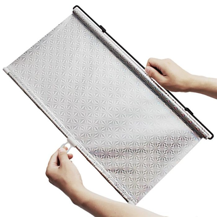 Car Window Covers Retractable Sunshade