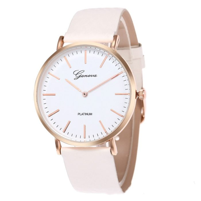 Ladies Watch Simple Analog Timepiece