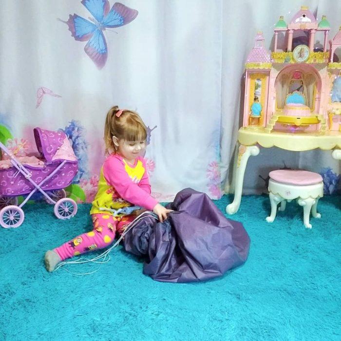 Kids Toy Organizer Storage Bag
