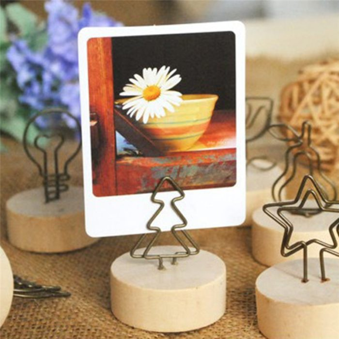 Photo Holder Round Paper Weight