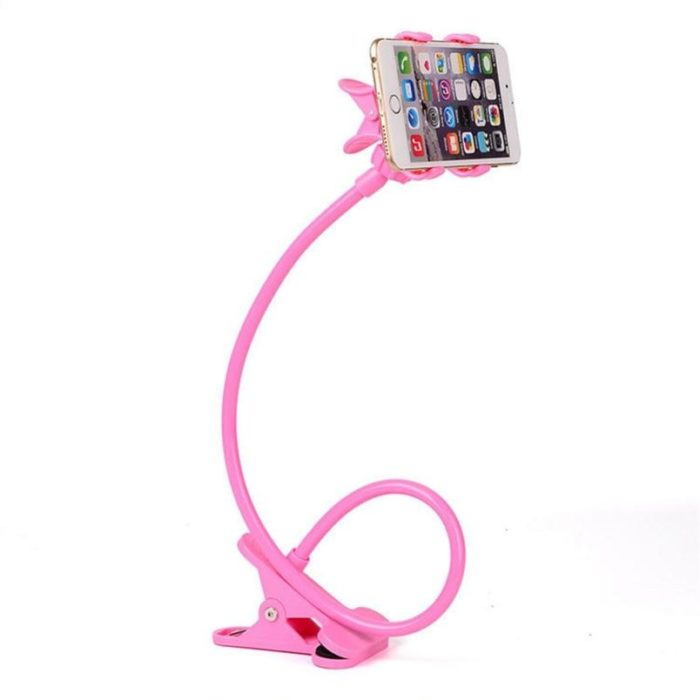 Phone Holder for Bed Clip-On Mount