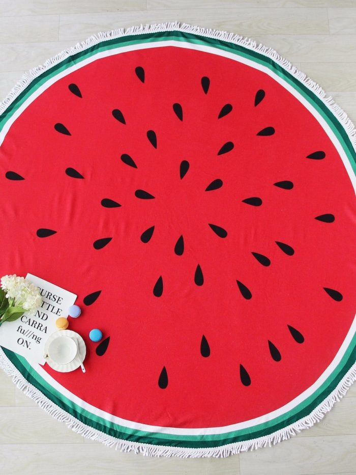 Microfiber Beach Towel Round Bath Cloth