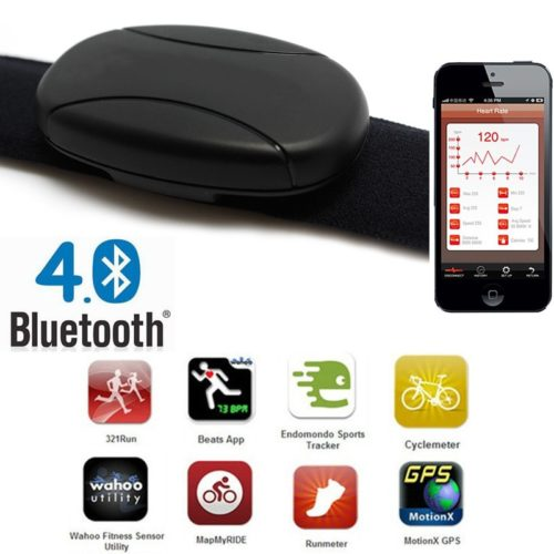 Bluetooth Heart Rate Monitor Chest Strap