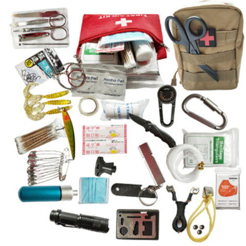Survival Bag Emergency Kit (21 pcs)