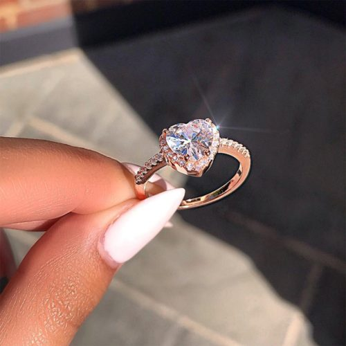 Heart Ring Crystal Accessory