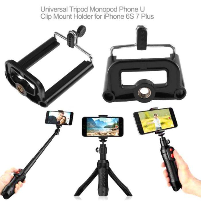 Phone Tripod Mount Universal Holder