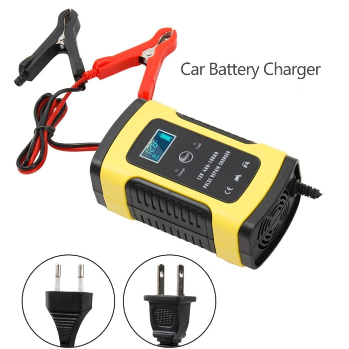 Portable Car Battery Charger Digital Display