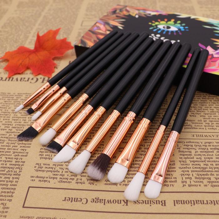 Eye Brush Set 12PC Makeup Tools