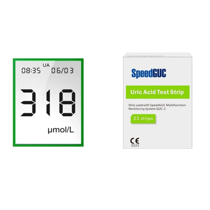 Test Strips For 3-In-1 Multi-Function Meter