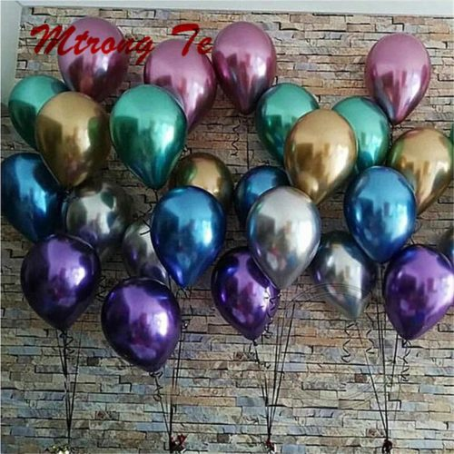 Metallic Balloons DIY Party Decors