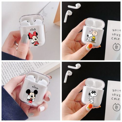 Airpod Case Cartoon Earphone Holder