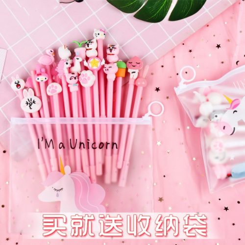 Fancy Pens Assorted Kawaii Gel Pen (20 Pieces)