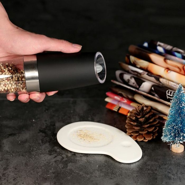 Salt And Pepper Grinders With LED Light