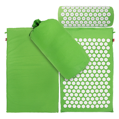 Yoga Mat Lotus Spike Acupressure Set