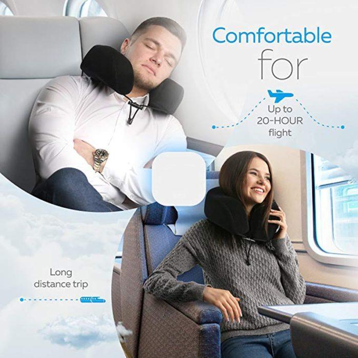 Memory Foam Travel Pillow U-Shaped