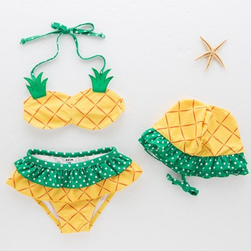 Girls Swimsuit Clothing Set