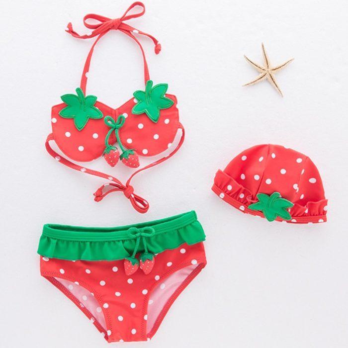 Girls Swimsuit Clothing Set