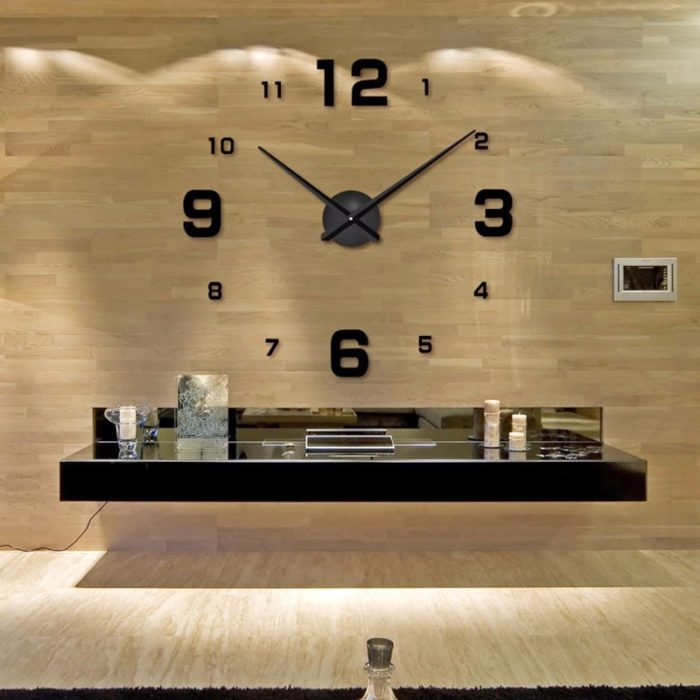 Large Wall Clocks DIY Timepiece