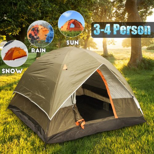 Waterproof Tent 4-Person Camping Shelter