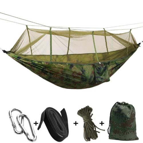 Garden Hammock with Mosquito Net