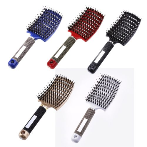 Bristle Brush Hairstyling Massage Comb