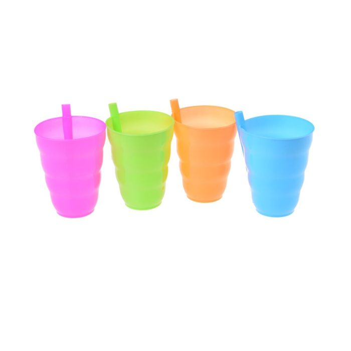 Drinking Cups With Own Straw
