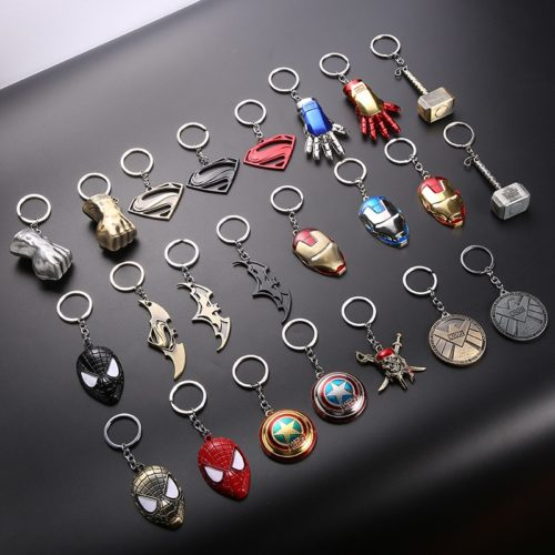 Key Ring Marvel Characters