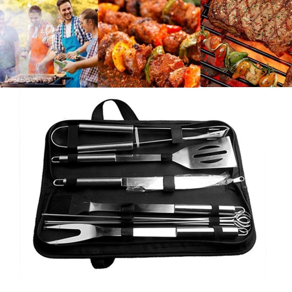 BBQ Tools Stainless Steel Grilling Set