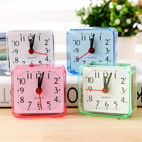Travel Alarm Clock Square Shape
