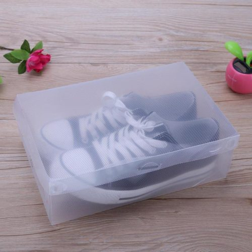 Shoe Box Plastic Storage