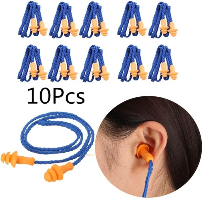 Silicone Ear Plugs Noise Reduction