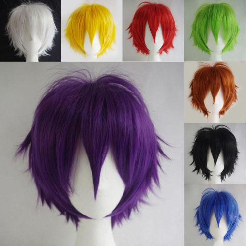 Cosplay Wigs Synthetic Hair