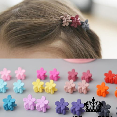 Flower Hair Clips Kids Accessories