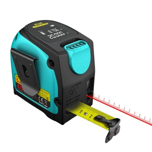 Laser Tape Measure 2-in-1 Tool