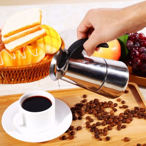 Portable Coffee Maker Stainless Steel