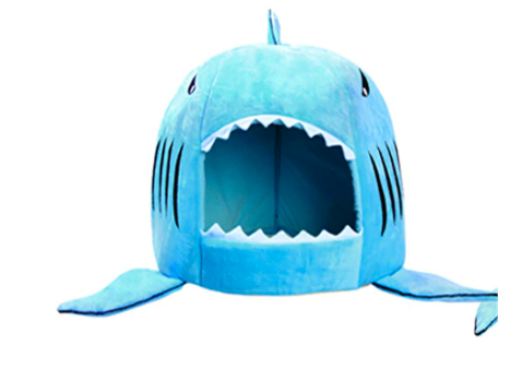 Puppy House Indoor Shark Design