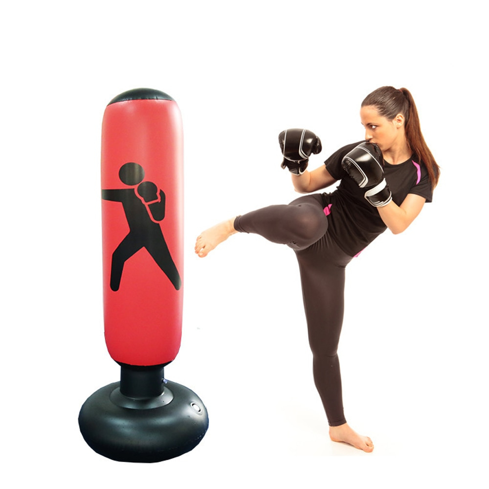 Image result for Punching Bag Stand Tumbler Type