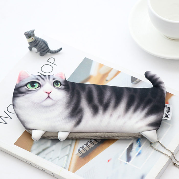 Pencil Cases For Girls Cute Cat Design