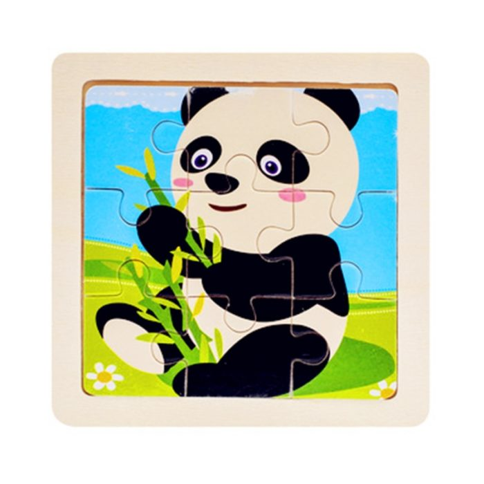 Wooden Jigsaw Puzzles Kids Activity