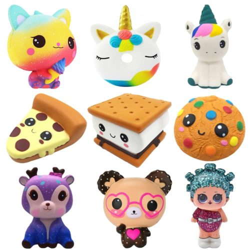 Cute Squishies Soft Squeeze Toys