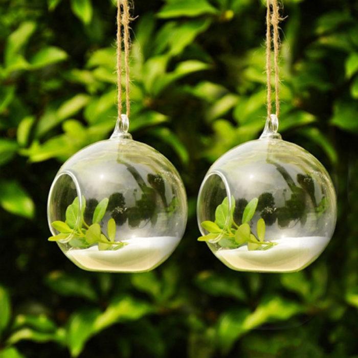Hanging Terrarium Glass Garden Ornament