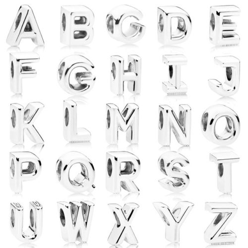 Letter Beads Alphabet Charms Jewelry