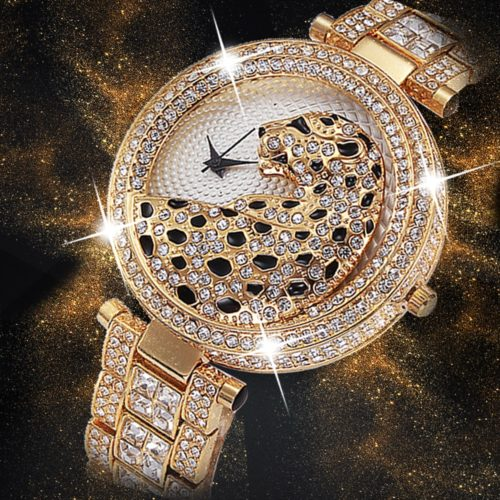 Female Watches Rhinestone Wristwatch