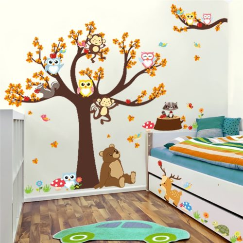 Nursery Wall Stickers Kids Room Decor