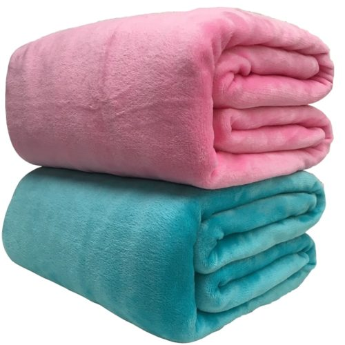 Fleece Blankets Warm Bed Clothes