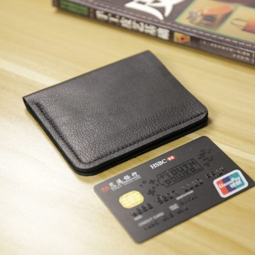Slim Wallets For Men Genuine Leather