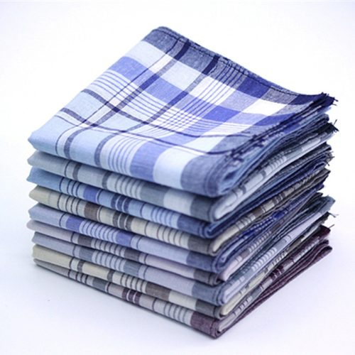 Mens Handkerchief Plaid Design