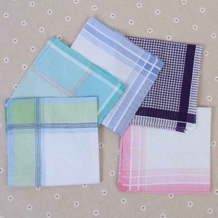 Mens Handkerchief Plaid Design